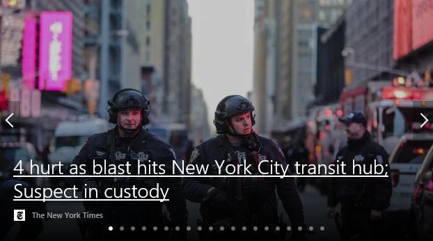 NYC bombing